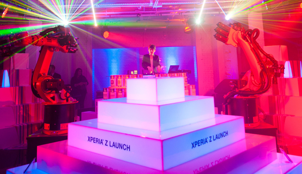 Sony Xperia Z Launch Party