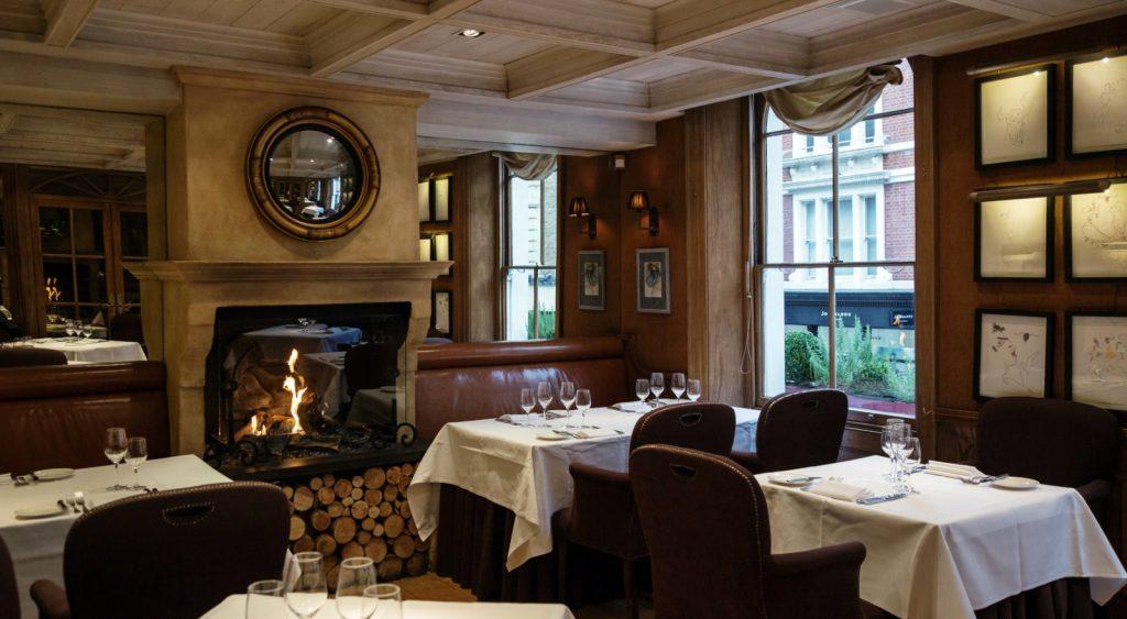 Clos Maggiore Private Dining Room