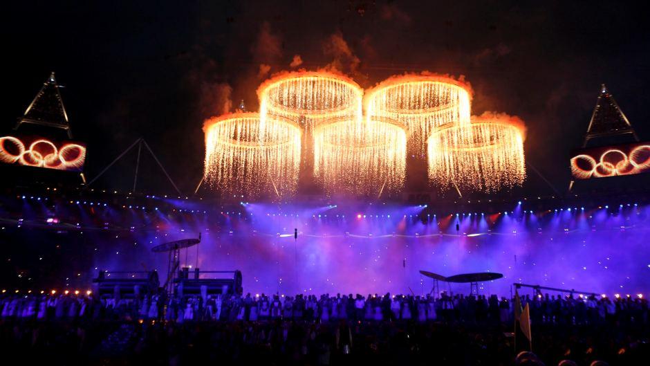 2012 Olympic Rings